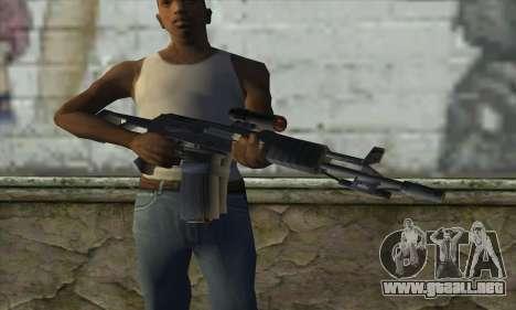 AK47 para GTA San Andreas tercera pantalla