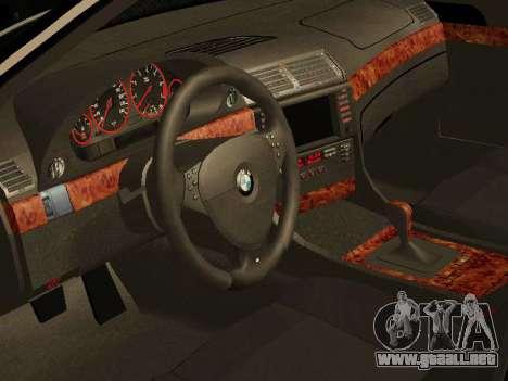 BMW 730 E38 para la visión correcta GTA San Andreas