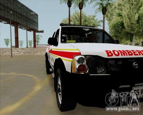 Nissan Terrano para GTA San Andreas vista posterior izquierda