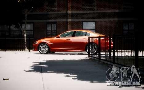 Jaguar XF-R 2012 v1.1 para GTA 4 left