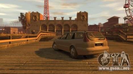 Daewoo Leganza Wagon para GTA 4 left