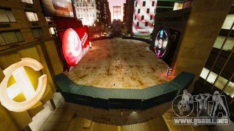 Open arena para vehículos de combate para GTA 4 tercera pantalla