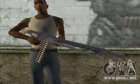 MG42 para GTA San Andreas tercera pantalla