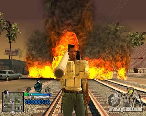 C-HUD Old School para GTA San Andreas segunda pantalla
