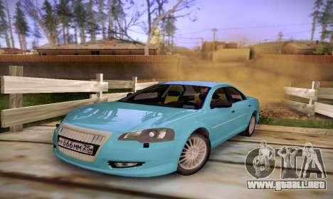 Volga Siber 2.5 AT Restyling para GTA San Andreas