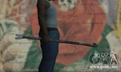 Palanca de neumático para GTA San Andreas tercera pantalla