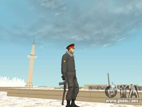 Pack de ruso de armas pequeñas para GTA San Andreas tercera pantalla