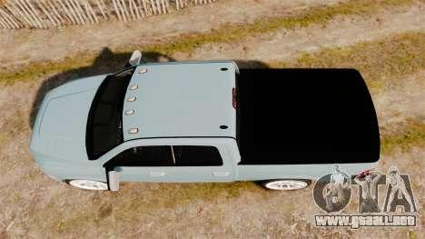 Dodge Ram 3500 Heavy Duty para GTA 4 visión correcta