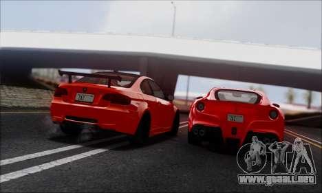Jango ENBSeries v1.0 para GTA San Andreas sucesivamente de pantalla