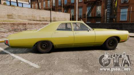 Dodge Polara 1971 para GTA 4 left