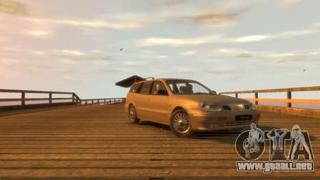 Daewoo Leganza Wagon para GTA 4 visión correcta