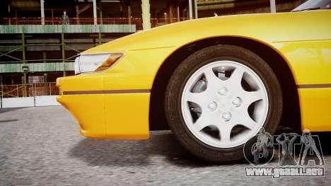 Nissan 240sx Dolor de 1992 para GTA 4 visión correcta