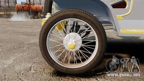 Ford Model T 1910 para GTA 4 vista hacia atrás