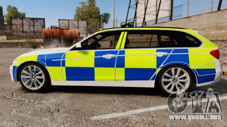 BMW 330d Touring (F31) 2014 Police [ELS] para GTA 4 left