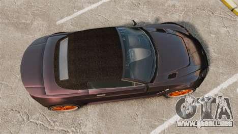 GTA V Dewbauchee Rapid GT para GTA 4 visión correcta