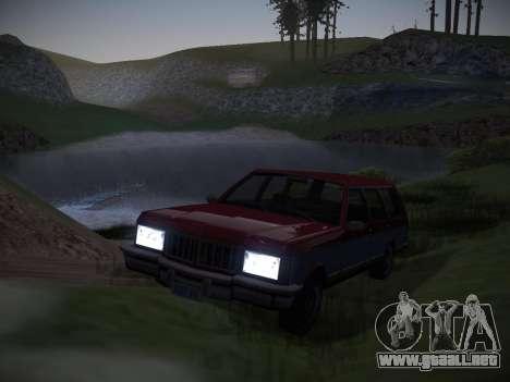 ENBSeries by Pablo Rosetti para GTA San Andreas tercera pantalla
