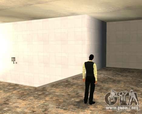 La piel vwmybjd para GTA San Andreas segunda pantalla