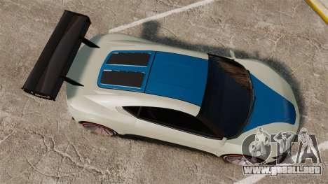 GTA V Dinka Jester para GTA 4 visión correcta
