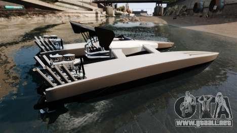 Dragboat Twin V8 para GTA 4 left