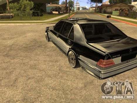 Mercedes-Benz 600SEL para la visión correcta GTA San Andreas