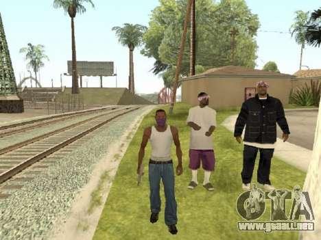 Ir a la cuadrilla de Ballas para GTA San Andreas