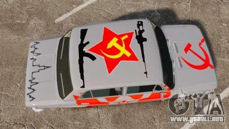 VAZ-Lada 2101 URSS para GTA 4 visión correcta