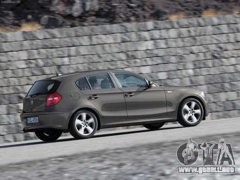 Inicio pantallas BMW 116i para GTA 4 sexto de pantalla