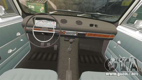 VAZ-Lada 2101 URSS para GTA 4 vista superior