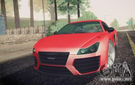 GTA 5 Obey 9f para GTA San Andreas