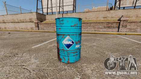 Nuevos libros para colorear para barriles para GTA 4 tercera pantalla