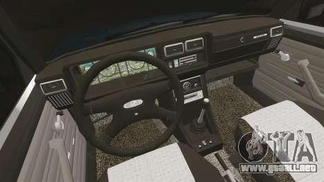 VAZ-2107 para GTA 4 vista interior