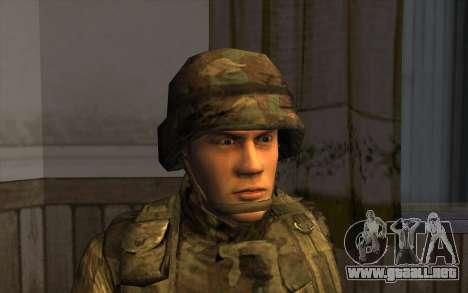 Los soldados de la SA y la de la guardia Naciona para GTA San Andreas tercera pantalla