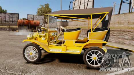 Ford Model T 1910 para GTA 4 left