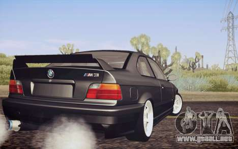 BMW M3 E36 Angle Killer para GTA San Andreas left