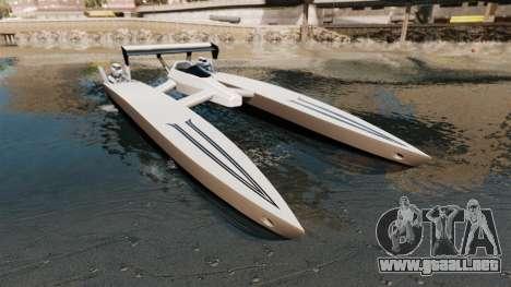 Dragboat Twin V8 para GTA 4
