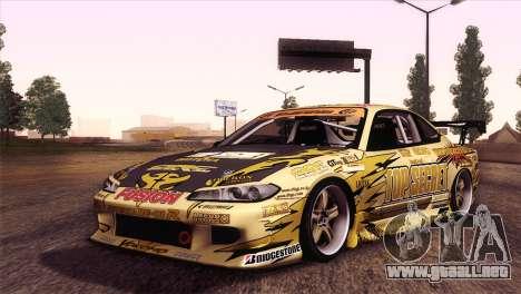 Nissan Silvia S15 TopSecret para GTA San Andreas left