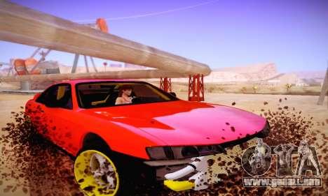Nissan Silvia S14 para GTA San Andreas left