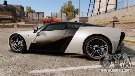 Marussia B2 para GTA 4 left