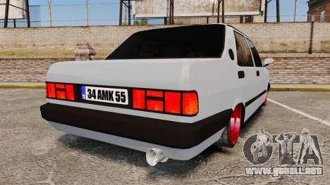 Tofas Sahin para GTA 4 Vista posterior izquierda