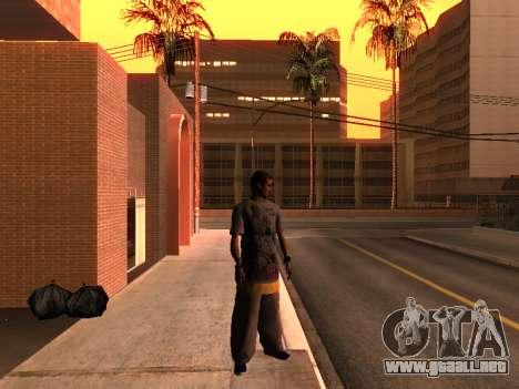 La Piel De Trazadores para GTA San Andreas segunda pantalla