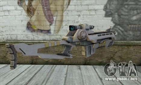 Rifle De Francotirador para GTA San Andreas segunda pantalla
