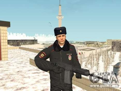Pack de ruso de armas pequeñas para GTA San Andreas segunda pantalla