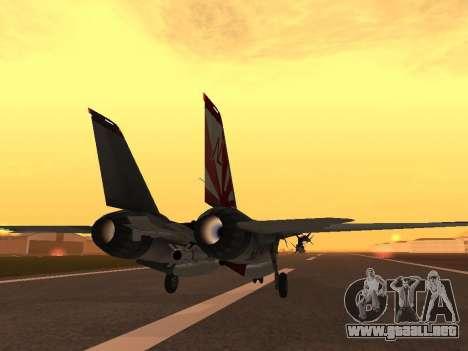 F-14 LQ para la visión correcta GTA San Andreas