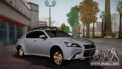 Lexus GS250 F para GTA San Andreas