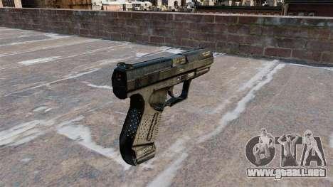 Pistola semiautomática Walther P99 para GTA 4 segundos de pantalla