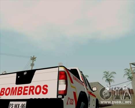 Nissan Terrano para la vista superior GTA San Andreas