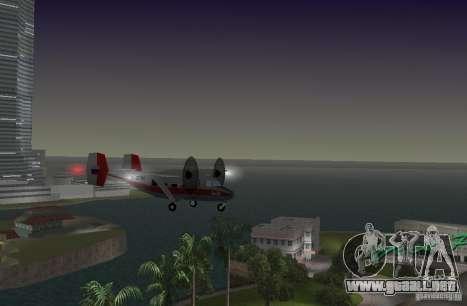 El an-28 para GTA Vice City vista lateral izquierdo