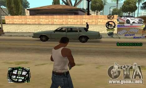 HUD Races para GTA San Andreas segunda pantalla