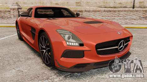 Mercedes-Benz SLS 2014 AMG Black Series para GTA 4