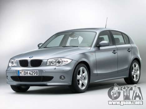 Inicio pantallas BMW 116i para GTA 4 tercera pantalla